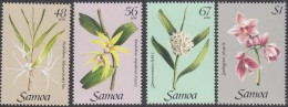 Samoa 1985 Yvertnr. 572-75 *** MNH Cote 6,25 Euro Flore Orchidées - Samoa