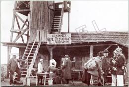 REPRO - Le Hohneck (88) - Le Café Restaurant De L'Observatoire (En 1910) - France