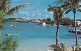 BERMUDA - Cambridge Beaches And Mangrove Bay, Karte Gel.1971, Sondermarke - Bermuda