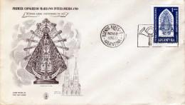 ARGENTINA 1960 - Primer Congreso Mariano Interamericano, 1960, First Day Cover - FDC