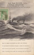 Guerre Navale 1914-15-1916 Amiral Charner Croiseur Cuirassé De 1er Rang - Guerre