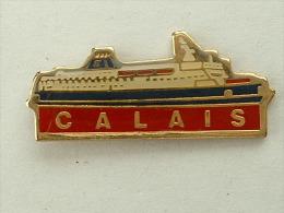 Pin's FERRIE SEALINK - CALAIS - Bateaux