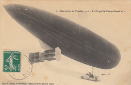 Manoeuvres De Picardie, 1910 - Le Dirigeable Clément-boyard - Airships
