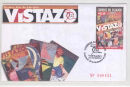 EC - 2007 - ECUADOR  -VISTAZO - FDC - MIT BESCHRIEB - Equateur