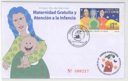 EC - 2008 - ECUADOR   -MUTTER  - FDC - MIT BESCHRIEB - Equateur