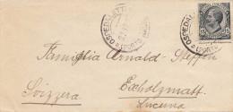 ITALIEN 1922? - 15 Centesimi Auf Brief Gel.n.Escholzmatt Schweiz - 1900-44 Victor Emmanuel III.