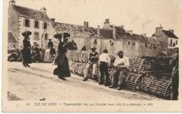 87 Ile De Saint Transport De La Soude Par Les Illiennes - Autres