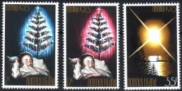 ( 1533 ) Norfolk Island - Christmas 1973 - Noël