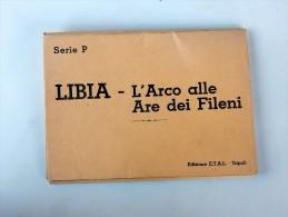 Lot De 11 Cartes Postales Anciennes De LYBIE, LIBIA  L' Arco Alle Are Dei Fileni - Libya
