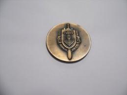 Superbe Médaille Du 12ème Régiment De Cuirassiers Capitaine Brassier  EM GB3  20.04.59 - 02.11.59 - France