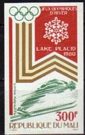 MALI    PA 375  * *  NON DENTELE   Jo 1980  Saut A Ski - Skiing