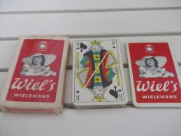 jeu de 32 cartes � jouer - BIERES BRASSERIE - WIEL'S WIELEMANS