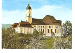 DIE WIES - Wallfahrtskirche  Zum GegeiBelten Heiland Erbaut 1746 - Weilheim