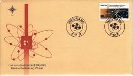 South Africa FDC Scott #498 15c Uranium Development - FDC
