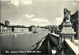 PISA  Lungarni E Chiesa Santa Mariadella Spina - Pisa