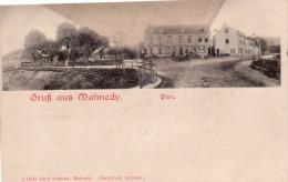 957- Gruss aus Malmedy  - Parc ---Rare, �tat Parfait--(A gauche ancien cimeti�re)