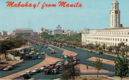 MANILA    MABUHAY   FROM  MANILA    8,8X13,8         (NUOVA) - Filippine