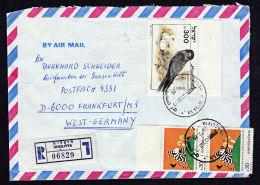A0419 ISRAEL 1985, Registered Cover Herzliyya To Germany - Israel
