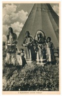 1906  Blackfoot  Indian Family - Native Americans
