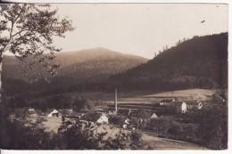 Carte Postale Photo Militaire Allemand LE SAULCY (88-Vosges) - Section LE QUIEUX - USINE - RARE - - Autres Communes