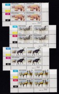 BOPHUTHATSWANA, 1983, MNH Controls Block Of 4, Game Reserve Animals, M 100-103 - Bophuthatswana