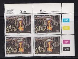 BOPHUTHATSWANA, 1984, MNH Controls Block Of 4, Definitive 11 Cent, M 120 - Bophuthatswana