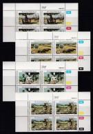 BOPHUTHATSWANA, 1988, MNH Controls Block Of 4, National Parks, M 202-205 - Bophuthatswana
