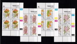 TRANSKEI, 1990, MNH Controls Block Of 4, Indigenous Flora,  M 259-262 - Transkei