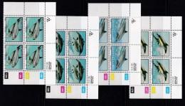 TRANSKEI, 1991, MNH Controls Block Of 4, Dolphins,   M 267-270 - Transkei