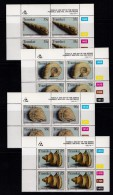 TRANSKEI, 1992, MNH Controls Block Of 4, Fossils  M 295-298 - Transkei
