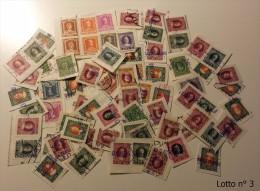 Lotto Costituito Da 75 Marche Da Bollo - Marca Da Bollo - Erinnofilia Storia Postale - Revenue Stamps