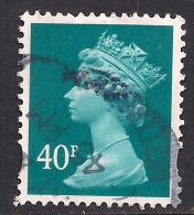 GB 2004 QE2 40p Turquoise Blue Machin SG Y1711.... . ( R48 ) - 1952-.... (Elisabeth II.)