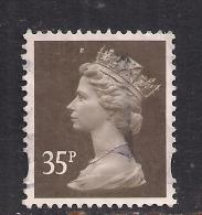 GB 2004 QE2 35p Sepia Machin SG Y1700..... . ( R61 ) - 1952-.... (Elisabeth II.)