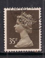 GB 1988 QE2 35p Sepia Machin SG X988.. . ( M858 ) - 1952-.... (Elisabeth II.)