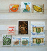 Brazil 1989 - 1997 - Fruits Painting - Birds - Brazil