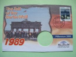 Zambia 2000 FDC Cover - Fall Of Berlin Wall - Millenium - Zambie (1965-...)
