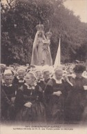 C P A---29---CHATEAUNEUF Du FAOU---la Statue Vénérée De N-D Des Portes Portée En Triomphe--voir 2 Scans - Châteauneuf-du-Faou