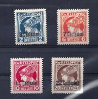 F.P. f. Ital. Zeitungsmarken Nr. 20 - 23 postfrisch