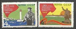 RUSSIE  N� 2801 / 2801A NEUF*  CHARNIERE / MH
