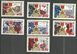 RUSSIE  N� 3049 / 3055 NEUF*  CHARNIERE / MH