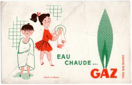 Buvard ; Eau Chaude Gaz - Electricité & Gaz