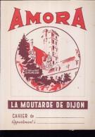 PC219 - PROTEGE CAHIER - AMORA - La Moutarde De Dijon - Protège-cahiers