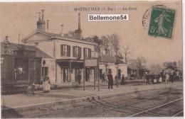 Cpa 76-motteville-la Gare  (circulé- Voir Scan Recto-verso) - France