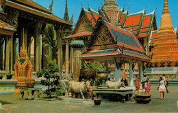 BANGKOK   INSIDE  THE  EMERALD  TEMPLE       (M.CARD)  (NUOVA) - Tailandia