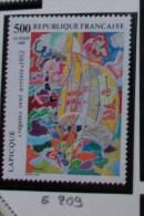 """E200 - FRANCIA - 1985 - """" Artisti Famosi CHARLES LAPIQUE  """" MNH - Francia"""