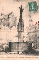 89 SAINT FLORENTIN PLACE DES FONTAINES XVI Eme SIECLE CIRCULEE 1908 - Saint Florentin