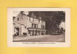 * CPA..dépt 77..VILLIERS Sur MORIN :  L´ Auberge Du Pont De Villiers  : Voir Les 2 Scans - Autres Communes