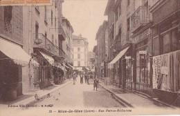 42 -- Loire -- Rive-de-Gier -- Rue Petrus-Richarme -- Coiffeur - Rive De Gier