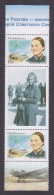 RUSSIA. 2012. Birth Centenary Of M.M. Raskova. Stamps+labels. MNH. - 1992-.... Federation