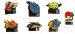 Peche_Collection Tetra Signé Arthus Bertrand _Lot De 2  Pin´s Aux Choix Sur 7 Présentés_Envoi Gratuit France - Badges